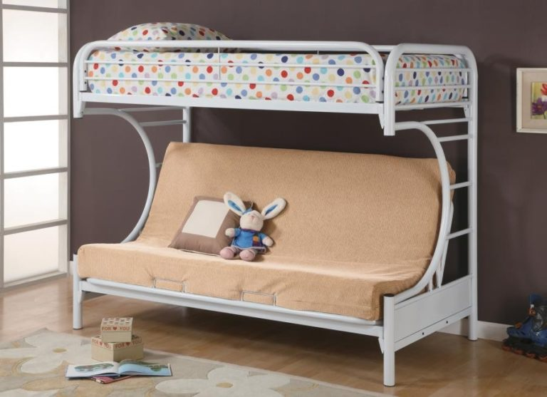 Twin over futon bunk beds